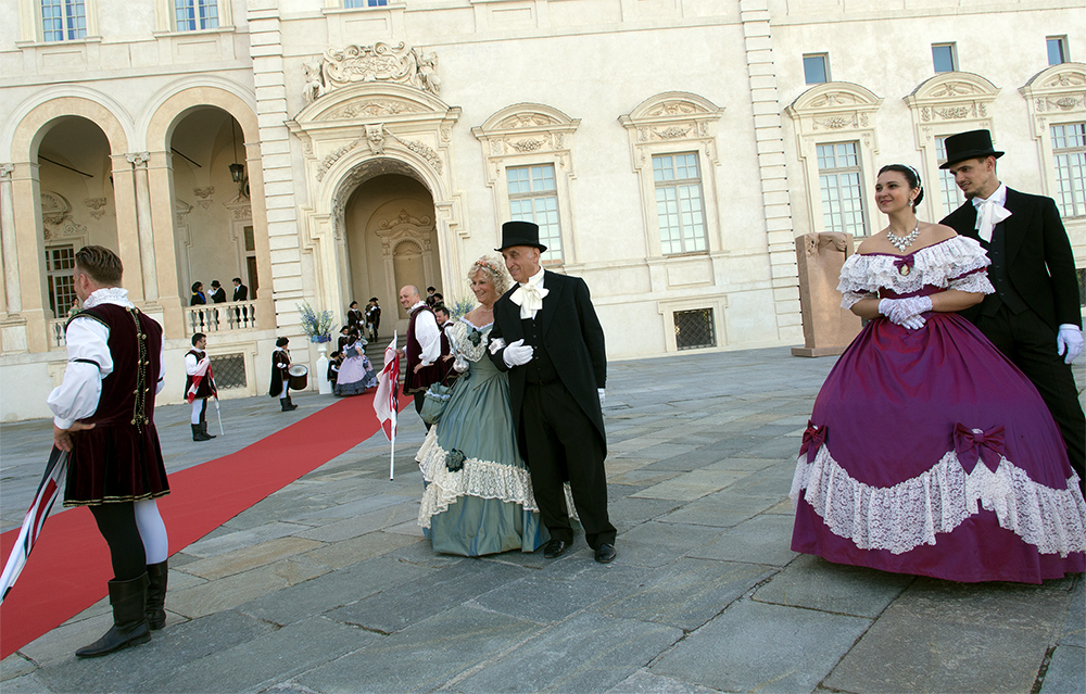 period costumes in italy exclusive event welcome