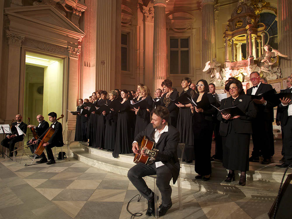 choir entertainment in luxury event