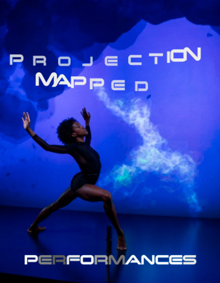 projection mapped performances